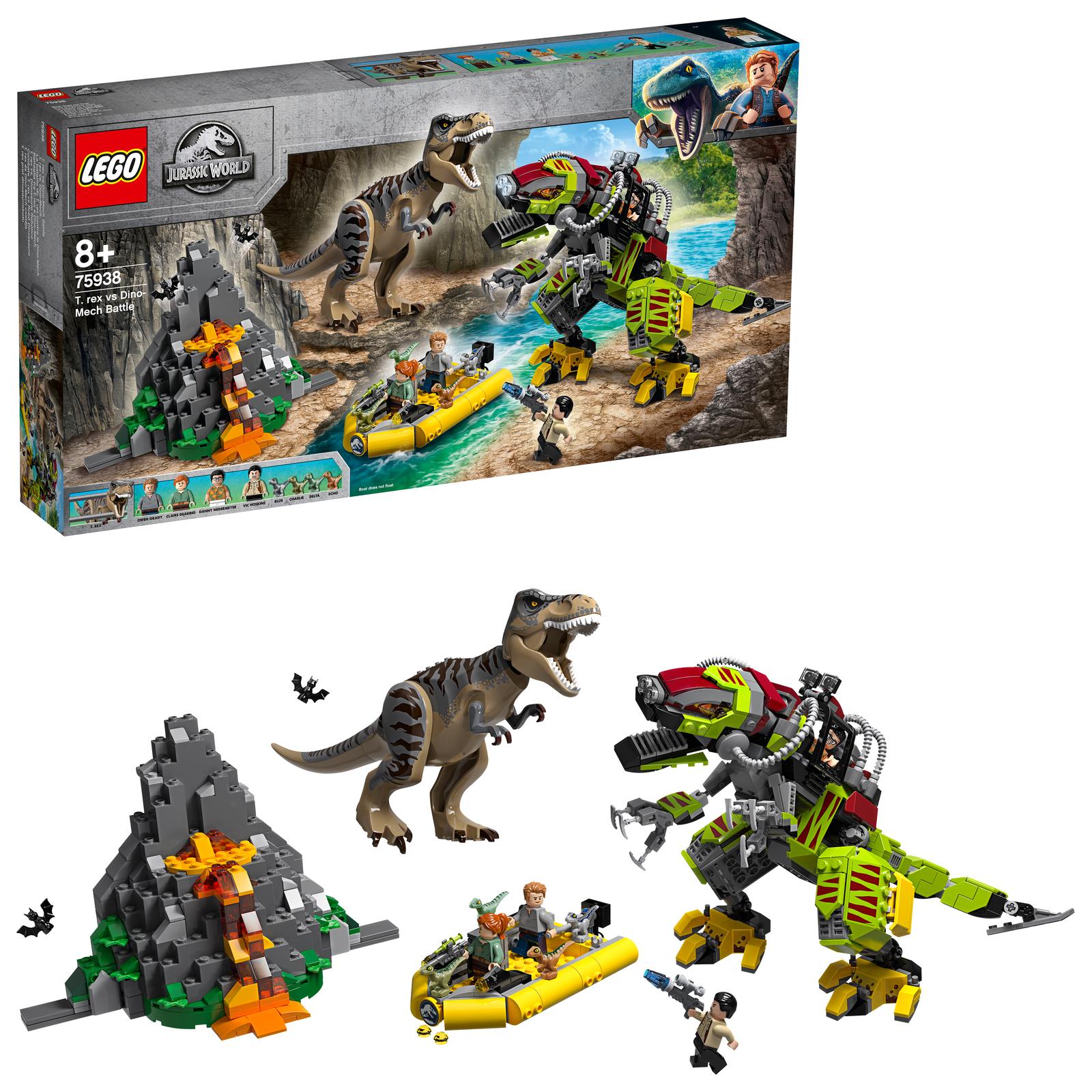 LEGO Jurassic World - T Rex vs Dino-Mech Battle (75938)
