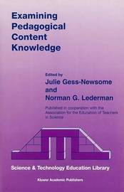 Examining Pedagogical Content Knowledge image