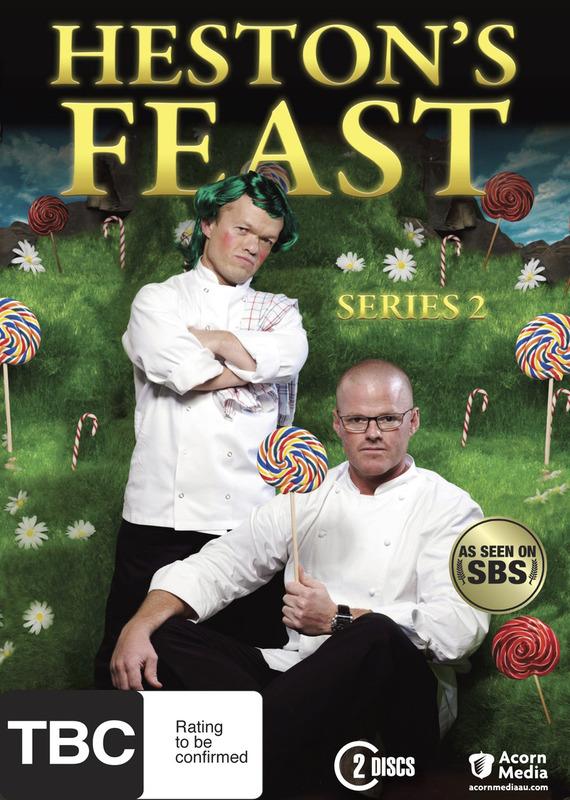 Heston's Feast - Series 2 (2 Disc Set) on DVD