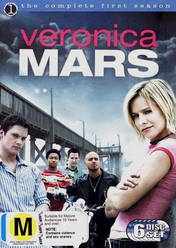 Veronica Mars - Complete Season 1 (6 Disc Set) on DVD