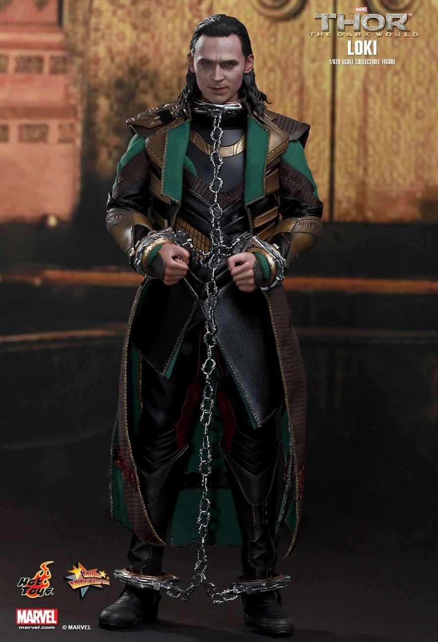 """Thor: The Dark World Hot Toys Loki 12"""" Action Figure image"""