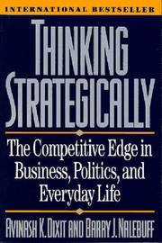 Thinking Strategically by Avinash K Dixit