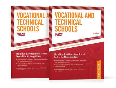 Vocational and Technical Schools Set 2010-2011 by Petersons Petersons