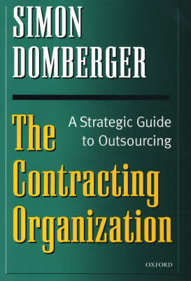 The Contracting Organization by Simon Domberger image