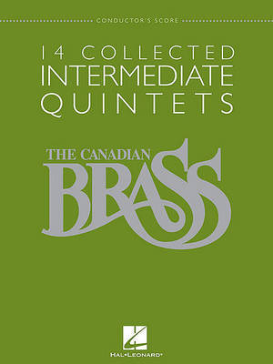 14 Collected Intermediate Quintets by Hal Leonard Publishing Corporation image
