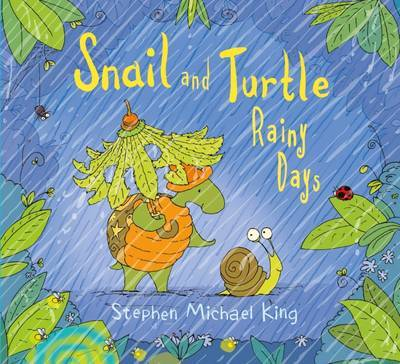 Snail and Turtle Rainy Days by Stephen Michael King image