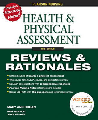 Pearson Nursing Reviews & Rationales by Mary Jean Ricci image