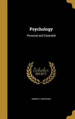 Psychology by Henry C Sheppard image