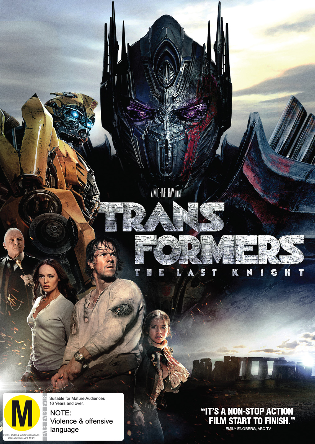 Transformers: The Last Knight on DVD image