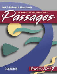 Passages Student's book 1 by Jack C Richards image