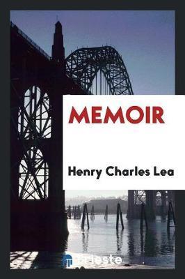 Memoir by Henry Charles Lea image