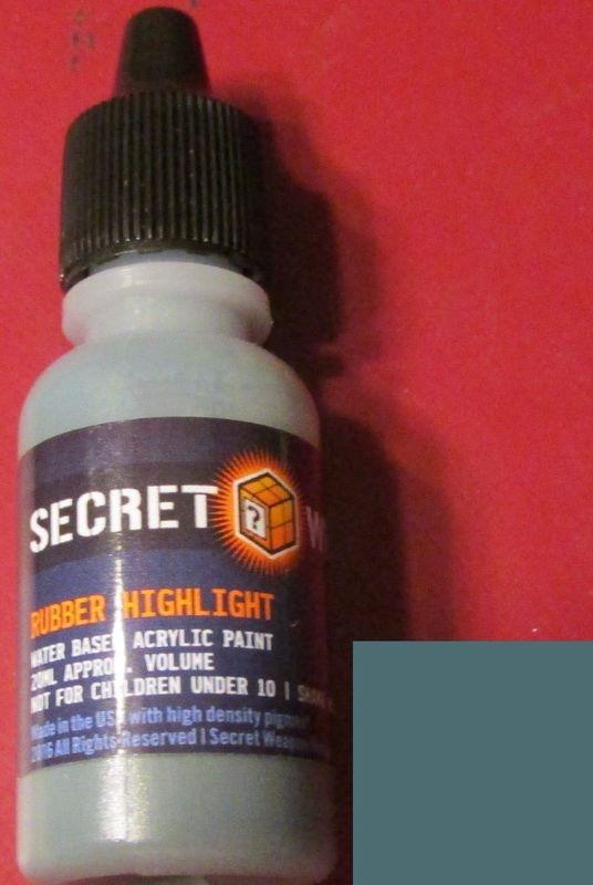 Secret Weapon Acrylics: Rubber Highlight