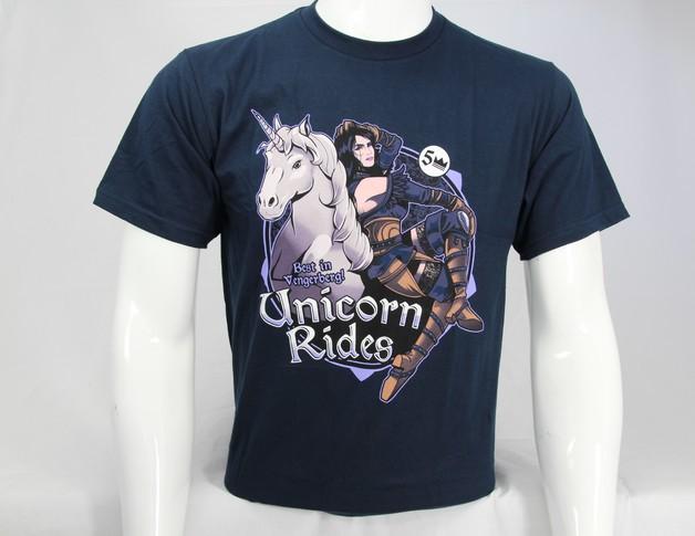 The Witcher 3: Unicorn Riders - Premium T-Shirt (Large)