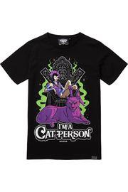 Killstar: Cat Person T-Shirt - XXL / Black