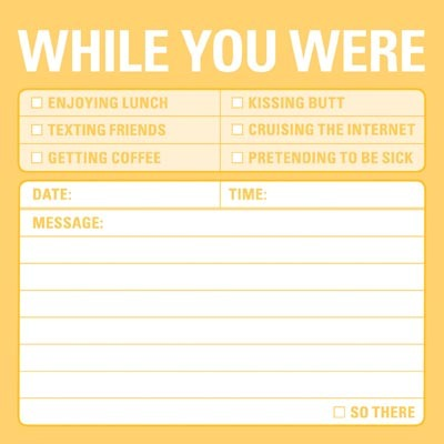 Sticky Notes - While You Were image