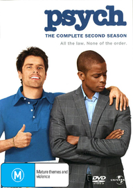 Psych - The Complete 2nd Season on DVD image