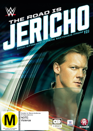 WWE: The Road Is Jericho - Epic Stories & Rare Matches From Y2J on DVD
