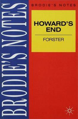 Forster: Howards End by E Forster image