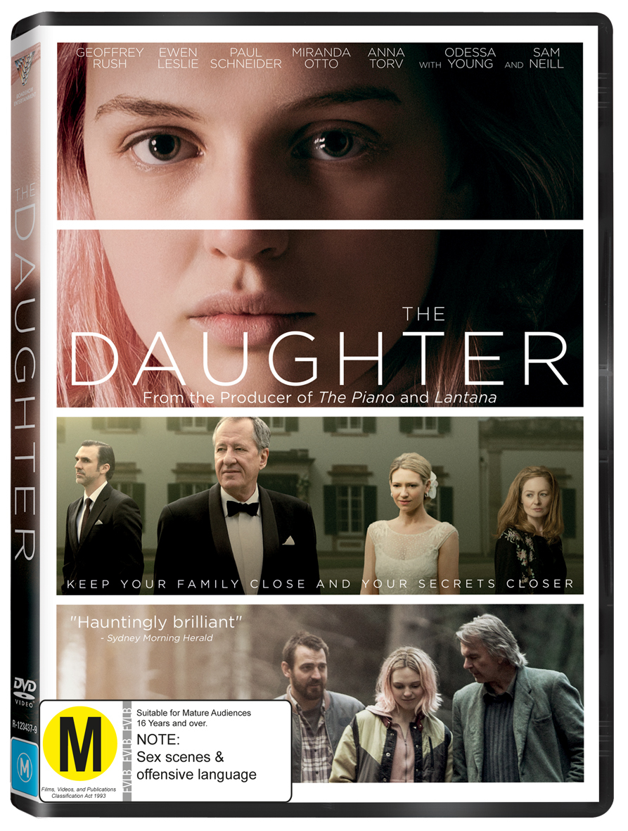 The Daughter DVD image
