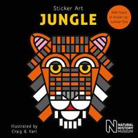 Sticker Art Jungle by Natural History Museum