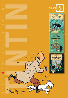 The Adventures of Tintin: v. 5: Red Rackham's Treasure #12 / The Seven Crystal Balls #13 / Prisoners of the Sun #14 by Herge image