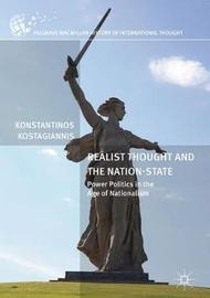 Realist Thought and the Nation-State by Konstantinos Kostagiannis image