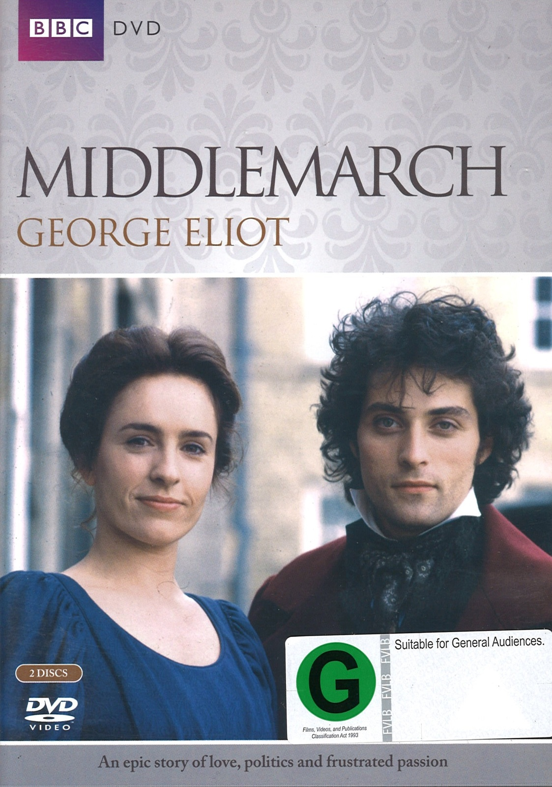 Middlemarch on DVD image