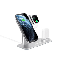 Ape Basics: 3-in-1 Aluminum 15W Fast Wireless Charger