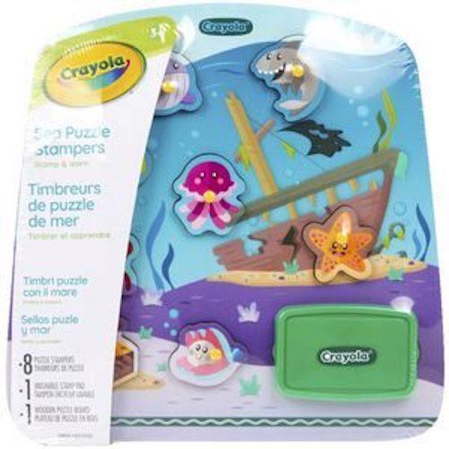 Crayola: Sea Puzzle Stampers