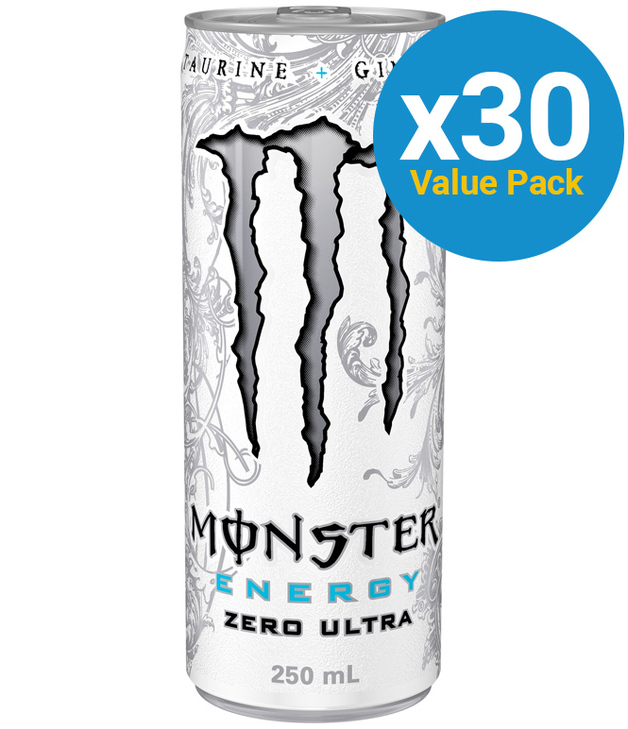 Monster Energy Drink Ultra Zero 250ml 30pk