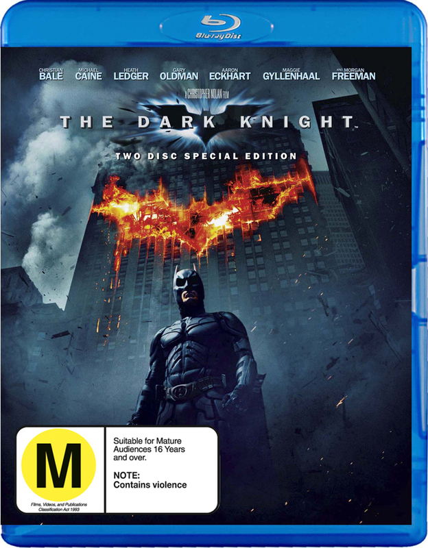 The Dark Knight (2 Disc Set) on Blu-ray
