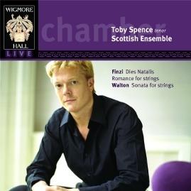 Finzi / Walton: Toby Spence and the Scottish Ensemble by Gerald Finzi