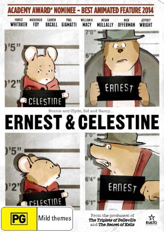 Ernest & Celestine on DVD