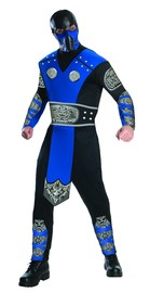 Mortal Kombat Subzero Adult Costume - Large