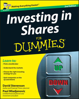 Investing in Shares For Dummies by David Stevenson image