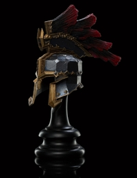 The Hobbit: War Helm of Dain Ironfoot - by Weta