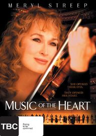 Music Of The Heart on DVD image