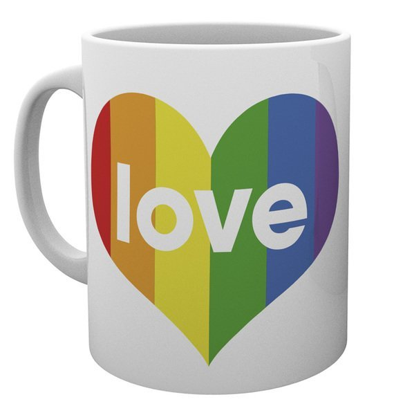 Pride Love Heart - Mug