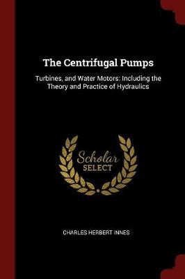 The Centrifugal Pumps by Charles Herbert Innes image