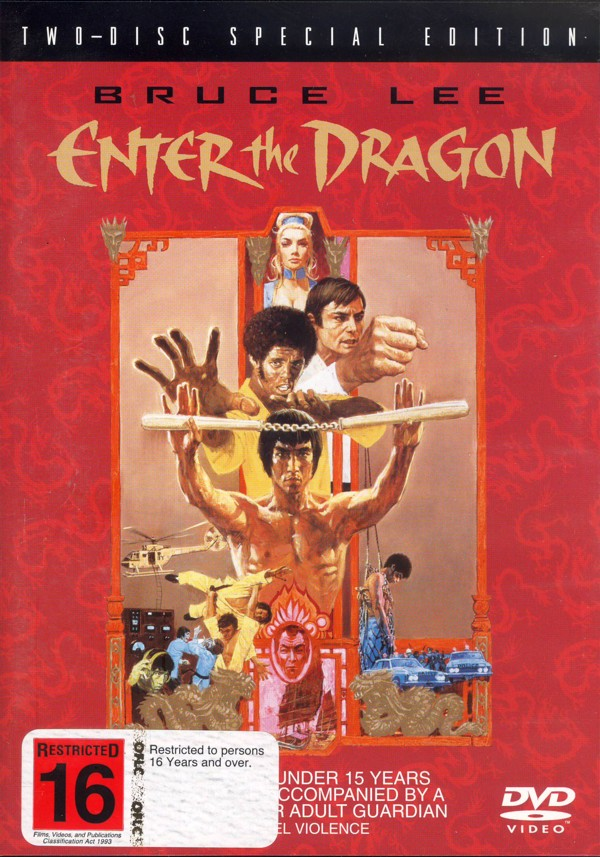 Enter The Dragon (2 Disc Set) on DVD image