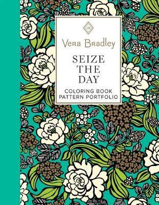 Vera Bradley Seize the Day Coloring Book Pattern Portfolio by Vera Bradley