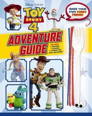 Toy Story 4: Adventure Guide with Make a Friend for Forky