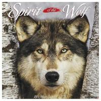 Spirit of the Wolf 2020 Wall Calendar by Willow Creek Press