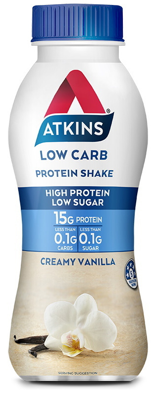 Atkins Low Carb Protein Shake - Vanilla (330ml)