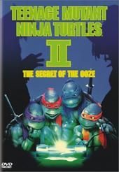 Teenage Mutant Ninja Turtles 2 - The Secret of the Ooze on DVD