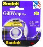 Scotch Giftwrap Tape 19mm x 16.5m