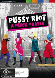 Pussy Riot - A Punk Prayer on DVD