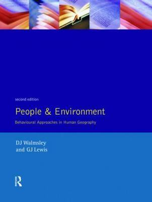 People and Environment by D.J. Walmsley