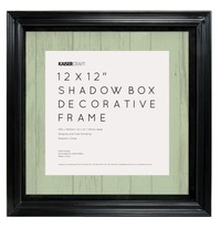 Kaisercraft: 12 x 12 Shadow Box Frame - Black