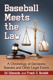 Baseball Meets the Law by Ed Edmonds